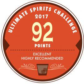Ultimate Spirits Challenge 2017 にてScore 92 を獲得