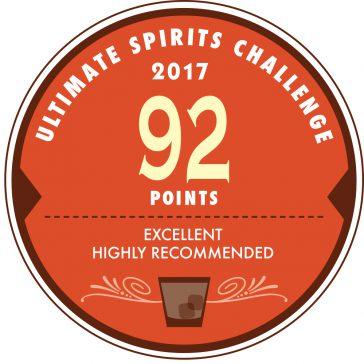 (日本語) Ultimate Spirits Challenge 2017 にてScore 92 を獲得